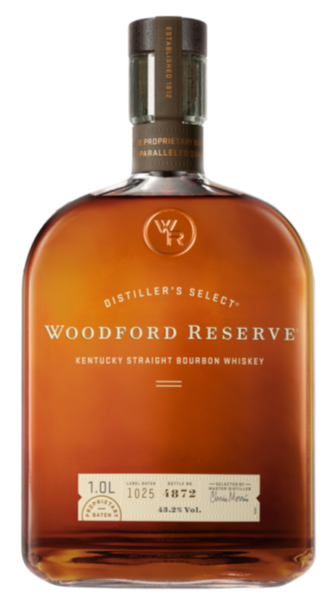 Woodford Reserve Kentucky Straight Bourbon 1L w/Gift Box