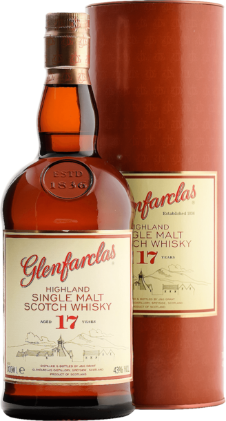 Glenfarclas 17 Year 700ml w/Gift Box
