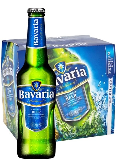24 x Bavaria Premium Beer Bottle Case