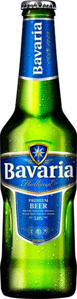 Bavaria premium beer bottle