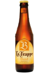 La Trappe Blond Beer Bottle