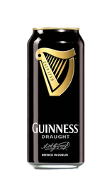 24 x Guinness Draught Beer Can 500ml Case