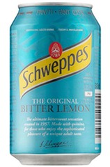 Schweppes Bitter Lemon Can