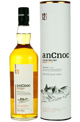anCnoc 12 Year 700ml bottle and box