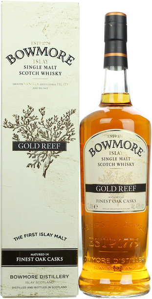Bowmore Gold Reef 1L w/Gift Box