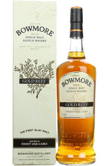 Bowmore Gold Reef 1L bottle and box