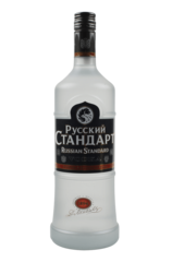 russian standard vodka bottle
