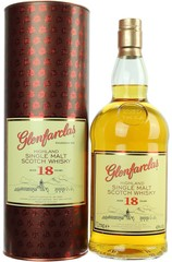 Glenfarclas 18 Year 1L Bottle and box