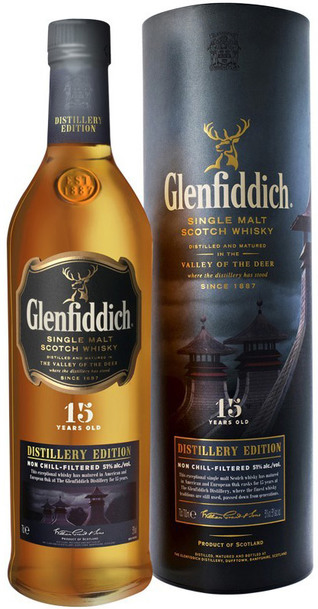 Glenfiddich 15 Year 1L Distillery Edition w/Gift Box