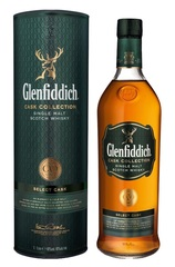Glenfiddich Select Cask 1L bottle and box