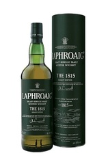 Laphroaig 1815 Legacy Edition 700ml bottle and box