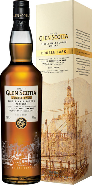 Glen Scotia Double Cask 700ml w/Gift Box