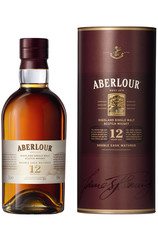 Aberlour 12 Year Double Cask Matured 1L bottle and box