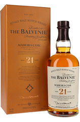 Balvenie 21 Year Madeira Cask 700 bottle and box