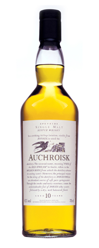 Auchroisk 10 Year Old Flora & Fauna 700ml bottle
