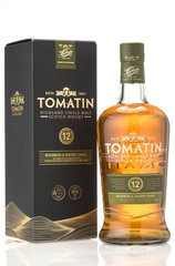 Tomatin 12 Year 1L bottle and box