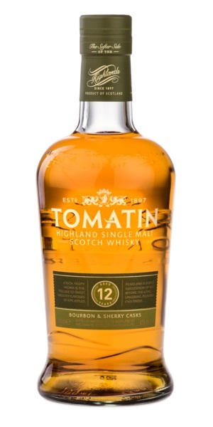 Tomatin 12 year bottle