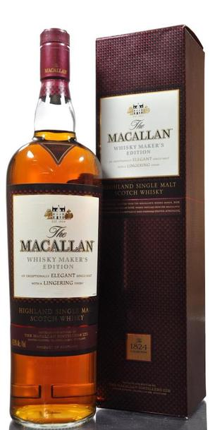 Macallan Whisky Makers Edition 700ml w/Gift Box