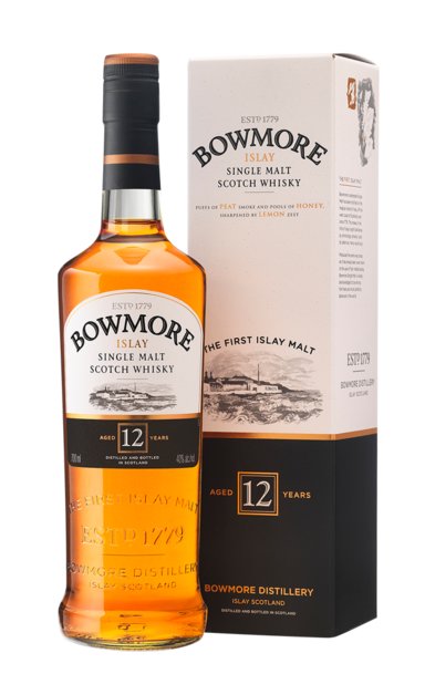 Bowmore 12 Year 700ml Gift Set With 2 Miniatures 800ml