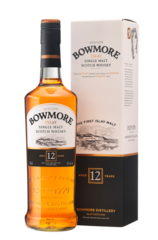 Bowmore 12 Year 700ml Gift Set With 2 Miniatures