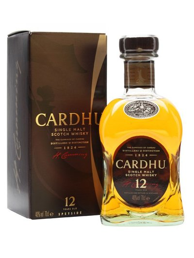 Cardhu 12 Year Single