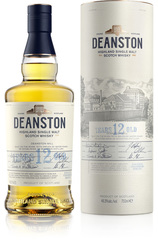 Deanston 12 Year 700ml Bottle and Box