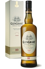 Glen Grant 10 Year 750ml bottle and box