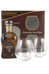 Cardhu 12 Year Gift Pack with 2 Glasses