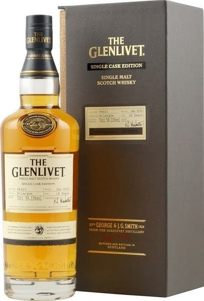 Glenlivet 18 Year Allargue 700ml w/Gift Box