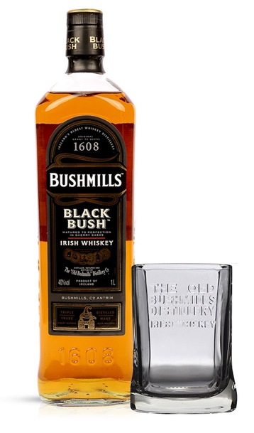Bushmills Blackbush 700ml with Gift Glass