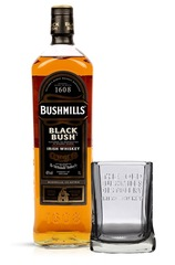 Bushmills Blackbush 700ml bottle with Gift Glass