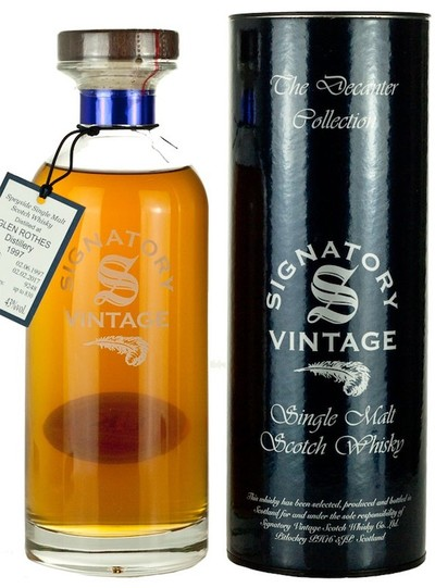 Glenrothes 1997 Ibisco Signatory Vintage 700ml bottle and box