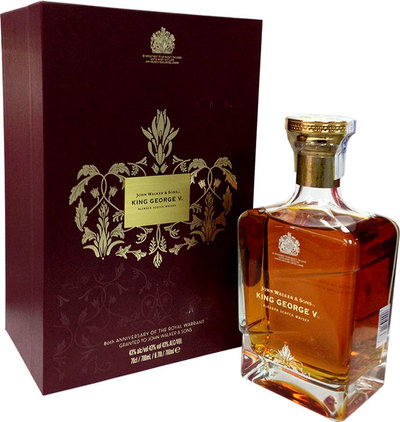 John Walker & Sons King George V Royal Warrant 80th Anniversary 700ml w/Gift Box