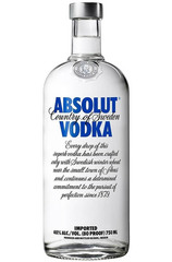 Absolut Blue 750ml Bottle