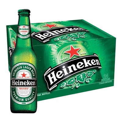 24 x Heineken Beer Bottle Case