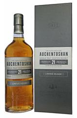 Auchentoshan 21 Year 700ml bottle and box