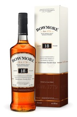 Bowmore 18 Year 700ml Bottle and Box