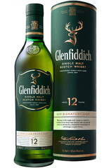 Glenfiddich 12 Year 1L w/Gift Box