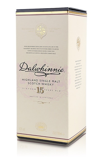 Dalwhinnie 15 year box