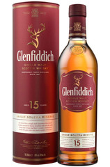 Glenfiddich 15 Year Solera Reserve 700ml Bottle and box