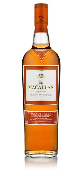 Macallan sienna bottle