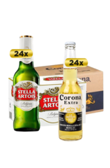24 x Stella Artois Longneck Beer Bottle Case
