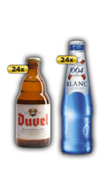 24 x Duvel Beer Bottle Case