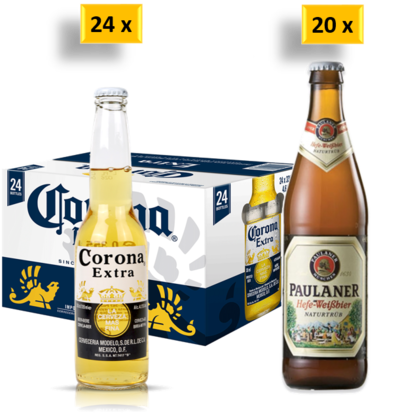 24 x Corona Beer Bottle Case