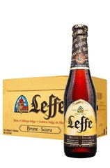 24 x Leffe Brown Beer Bottle Case