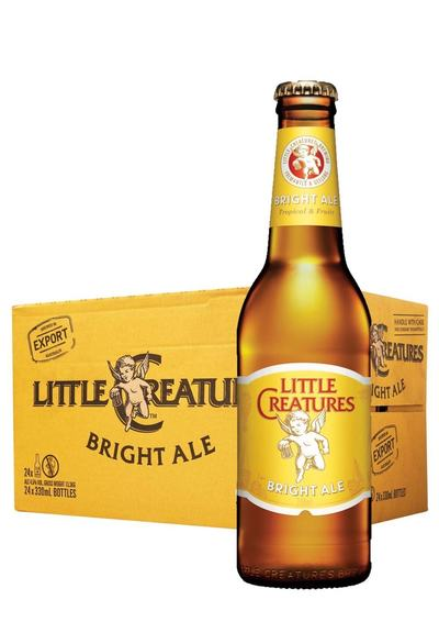 24 x Little Creatures Bright Ale Beer Bottles Case