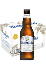24 x Hoegaarden White Beer Bottles Case