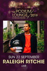 Sun Discounted Tix 22/09 Podium Lounge w/ Raleigh Ritchie