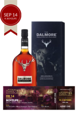 The Dalmore King Alexander III w/Gift Box w/ 1 discounted ticket for Podium Lounge FRIDAY 14 Sep ft BOYZLIFE