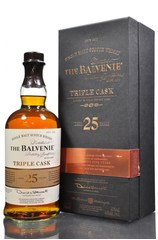 Balvenie 25 year Triple Cask Bottle With Box